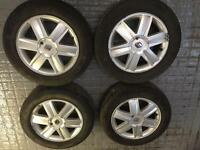 "Genuine Renault 16"" alloy wheels & tyres"