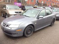 2007 Saab 9-3 LOW KM 2.0T Leather Sunroof AUX LOADED MUST SEE