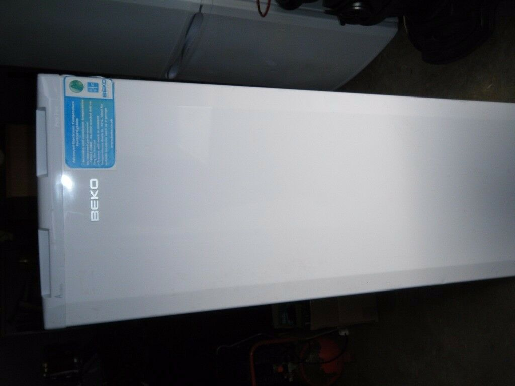 Beko upright freezer