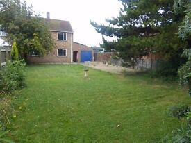 Newly Refurbished Large 3 Bed Semi-Detached House with Garage, Large Garden, in Desirable Location