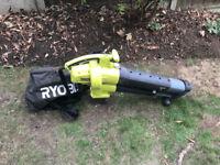 Ryobi Corded Leaf Blower and VAC