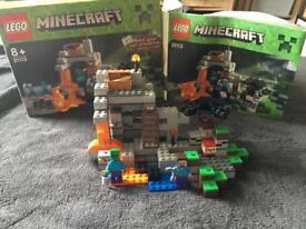 Minecraft Lego the cave set 21113