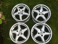 Fox Racing Alloy Wheels 15 Inch 4x100 4x98 4 Stud