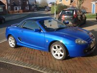 For Sale: Very smart MGTF135 in Cool Blue with Black Hard Top, comes with 12 months MoT