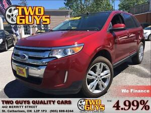 2013 Ford Edge SEL AWD STUNNING CHROME NAVIGATION LEATHER MOON