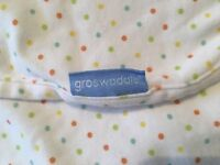 2 excellent condition gro swaddle blankets