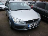 2005 FORD FOCUS LX 1.4 SILVER 10 MONTH M.O.T.