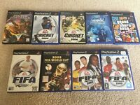 9 classic games for PS2