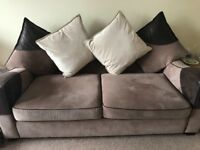 3Seater Settee, Chair and Storage Footstool