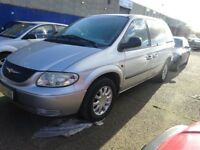 2004 chrysler yoyager diesel long mot,family car