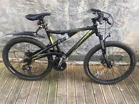 DiamondBack Outlook FS Mountain Bike 2013 - Full Suspension MTB with accessories.