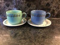 Friends tv show coffee mug set