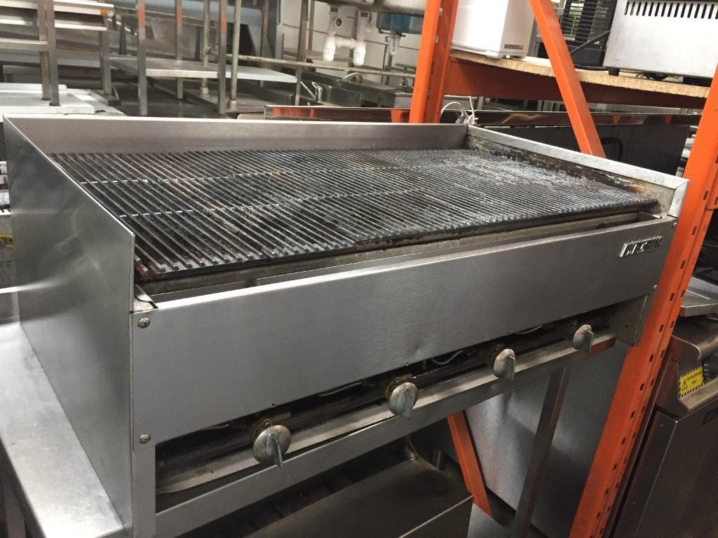 Imperial charcoal grill