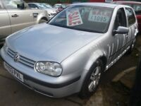 Volkswagen GOLF Match,5 dr hatchback,full MOT,clean tidy car,runs and drives well,Alloys,Px to clear