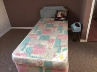 NORMAL SINGLE BED WITH HEADBOARD