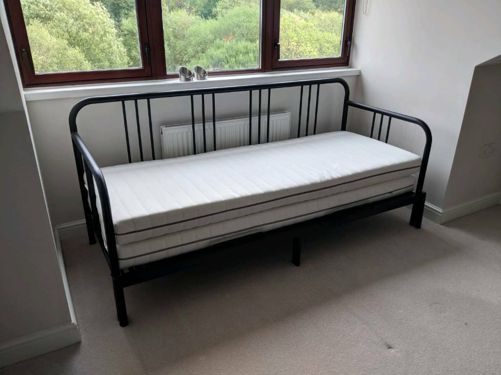 Ikea Fyresdal Day Bed With Malfors Mattresses Price Reduced In Fleet Hampshire