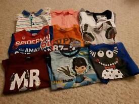 9 boy's t-shirts
