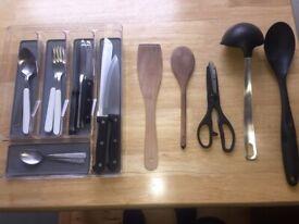 Kitchen Utensils - Cutlery - Pans