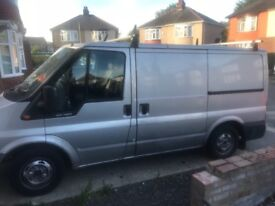 Ford transit 100bhp 06 plate