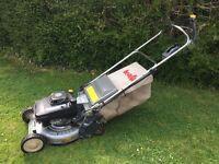 """Kaaz 19"""" Heavy duty Self Propelled rear roller petrol lawnmower"""