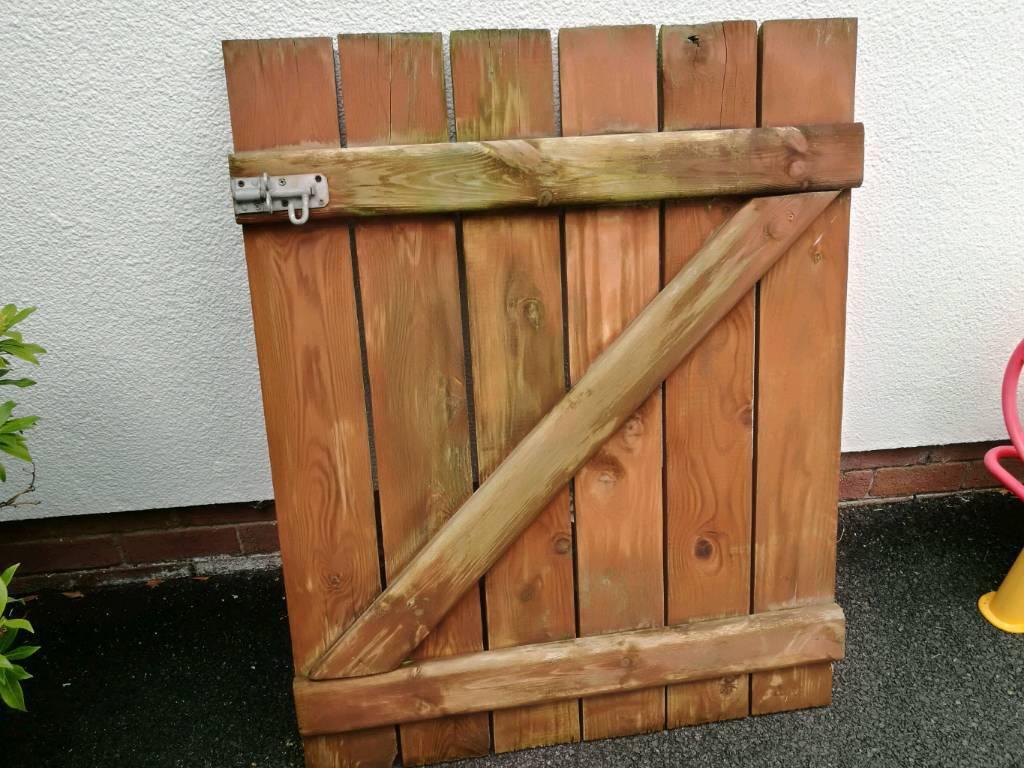 Wooded garden gate | in Castlereagh, Belfast | Gumtree