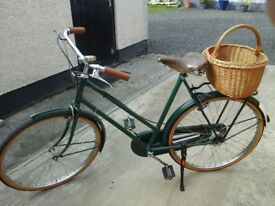 Lady's 3 speed Raleigh Sport Bicycle for sale.