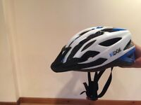Ridge helmet for boys with rear light (from Halfords)