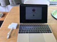 MacBook Gold 2016 fantastic condition with case