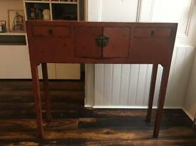 Chinese Console TV Table