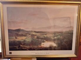 Thomas Cole Painting -River by the Catskills.