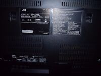 "JVC 42"" inch BLACK TV FOR SALE"