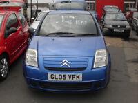 citroen c2 1.1 low insurance ideal first car new cambelt new mot