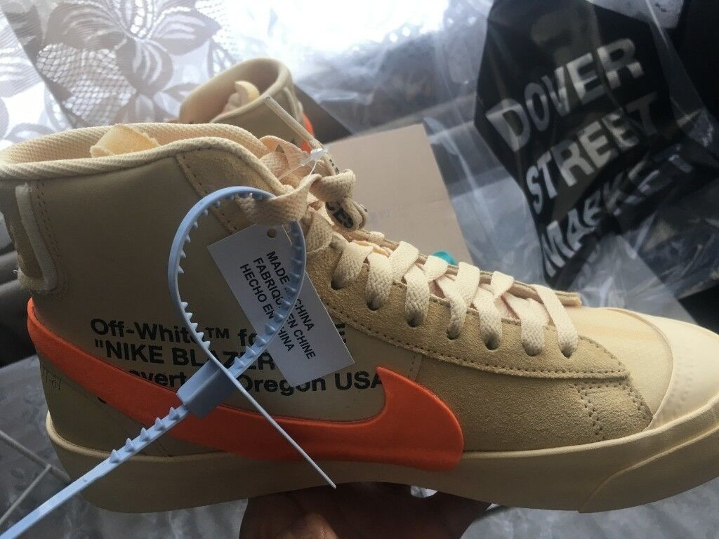 Nike Blazer Mid Off-White All Hallow s Eve size 7.5 UK 8.5 US  c9004d886