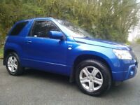 2008 Suzuki Grand Vitara DDIS 1.9 Diesel 4WD. Long MOT. Low mileage for age. Only 2 owners from new.