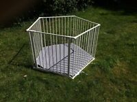 Lindam Play Pen for baby or toddler. Can be used indoors or outdoors.