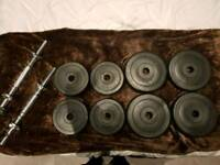 15kg barbells