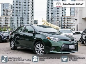 2015 Toyota Corolla LE/ Only 22KM!