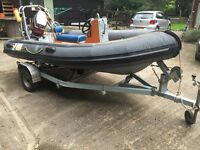 Boat for sale- 4m Rib with 40hp Engine & Trailer