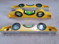 10'' 3 vials Scaffolders Level 250mm Magnetic Spirit Level Highly Accurate Builder Workshop