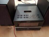 Sony HiFi with Speakers