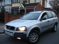 !!! VOLVO XC90 2.4 D5 S G/T AUTOMATIC DIESEL !!! 2005 PLATE 7 SEATER 4X4 JEEP !!!