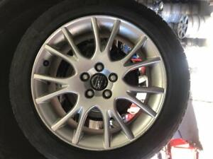 2000-2006 Volvo S80 - s60 | 225-50-17 Rims/Tires | Like new | 5x108 | 80%Tread On tires