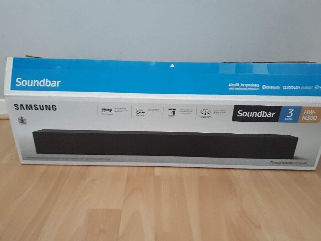 Samsung Soundbar BNIB HW N300 | in Knightswood, Glasgow | Gumtree