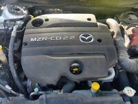 2009-2014 MAZDA 2.2 MZR-CD R2AA COMPLETE ENGINE 62,000 MILEAGE