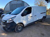 Vauxhall, VIVARO, LWB Panel Van, 2015, Manual, 1598 (cc)