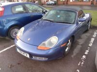 Porsche Boxter 2.5 - Remaped 250Bhp Convertible - cabrio £4999 or swap