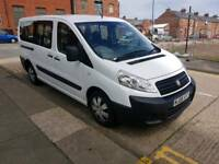 WHEELCHAIR ACESS VEHICLE, 2008 FIAT SCUDO 5 SEATER WITH RAMP IN REAR