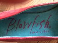 Red Blowfish shoes size 4