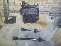vw golf engine 1.6 automatic (not car)