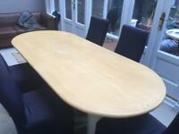 Boardroom table by Marcatre Italian Design with 5 Minty furniture chairs
